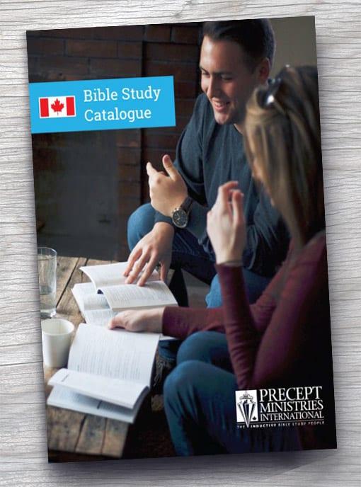 Bible Study Catalogue – FREE Download | Precept Ministries Canada