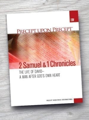 2 Samuel/1 Chronicles 22 - 29 | Precept Ministries Canada