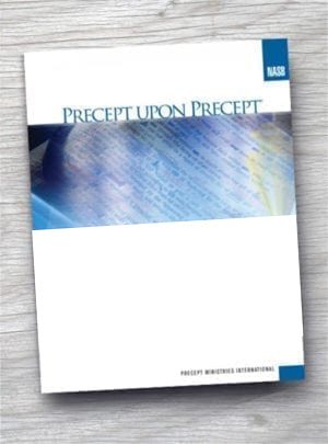 Precept Upon Precept Workbooks (NAS)